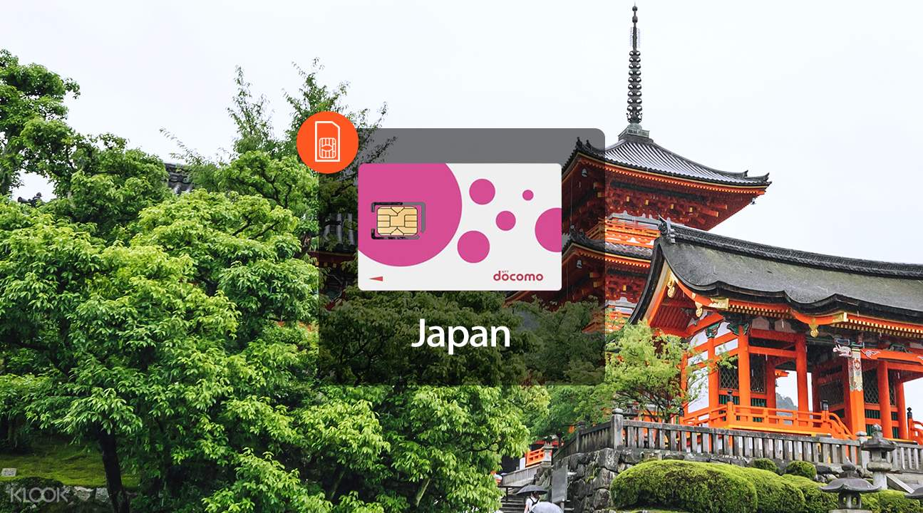 Japan prepaid SIM card promotion